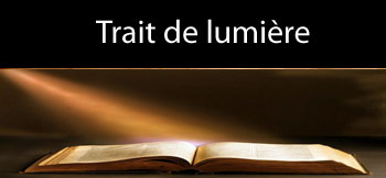 b Trait de lumiere